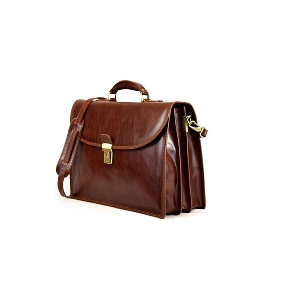 Skórzana torba Santo Croce VL8242 Brown