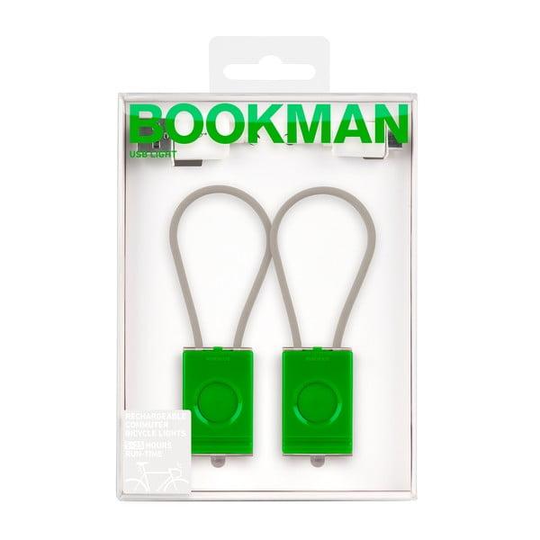 Zielone USB światełko Bookman