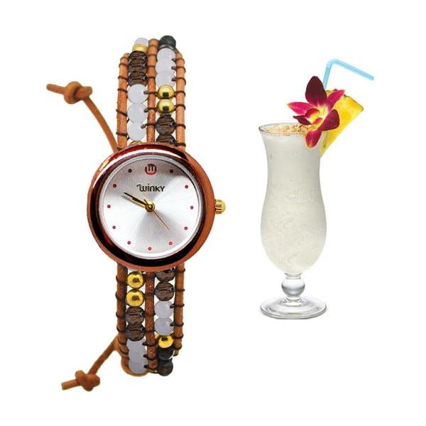 Zegarek z koralikami Classic, Pina Colada