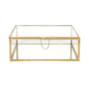 Szklana skrzynka Carre, 20x20 cm
