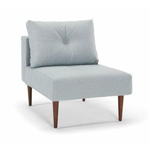 Jasnoniebieski fotel Innovation Recast