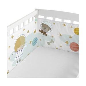 Ochraniacz do łóżeczka Happynois Astronaut, 210x40 cm
