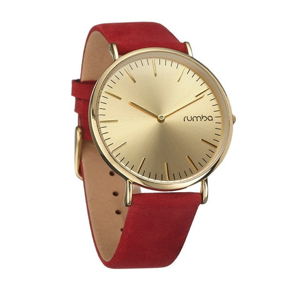 Zegarek damski SoHo Suede Crimson