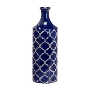 Ceramiczny wazon Blue Vase, 40 cm