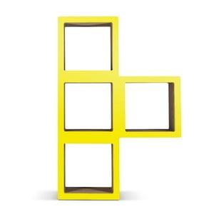 Kartonowa biblioteczka Bit Ti Yellow