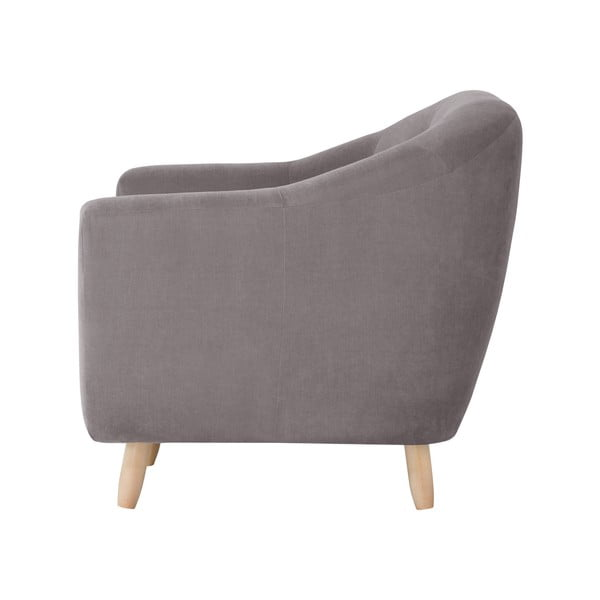 Brązowa sofa dwuosobowa Jalouse Maison Vicky