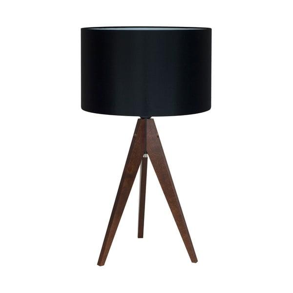 Lampa stołowa 4room Artist Black/Brown, 40x33 cm