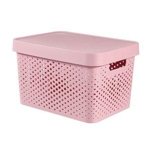 Różowe pudełko Curver Holes