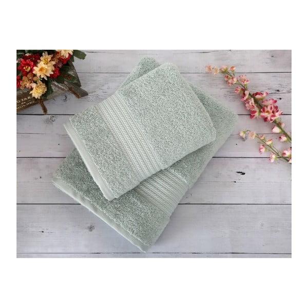 Miętowy ręcznik Irya Home Egyptian Cotton, 70x130 cm