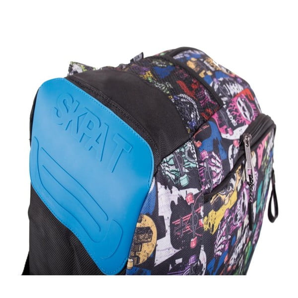 Plecak Skpat-T Backpack Black Skulls