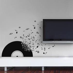 Naklejka dekoracyjna na ścianę Płyta winylowa