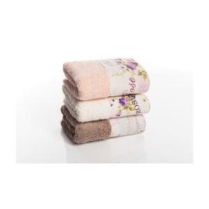Zestaw 3 ręczników Palma V1, 30x50 cm