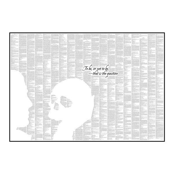 """Plakat """"Hamlet"""", 70x50 cm"""