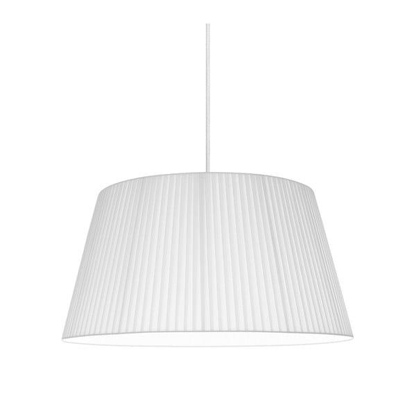 Biała lampa wisząca Sotto Luce KAMI,Ø45cm