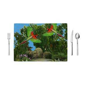Mata kuchenna Home de Bleu Flying Parrots, 35x49cm