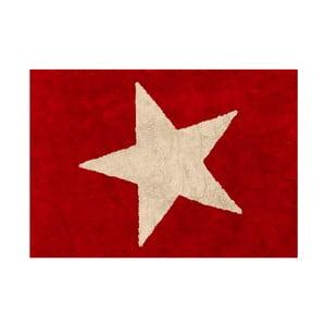 Dywan Estela 160x120 cm, czerwono-beżowy