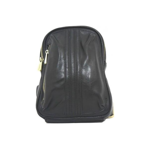 Plecak Bobby Black - czarny, 18x26 cm