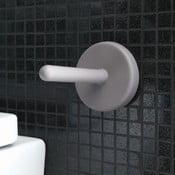 Przyczepny uchwyt na papier toaletowy Portaro, jasnoszary