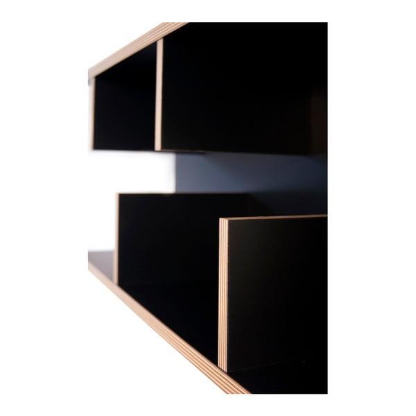 Czarna półka TemaHome Bern, 90 cm