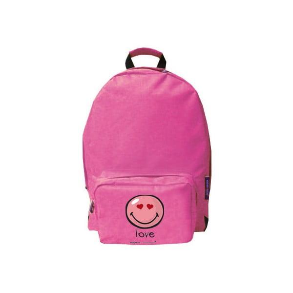 Plecak Pink Smiley