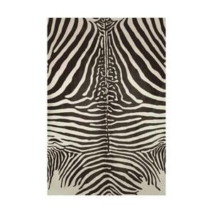Winylowy dywan Cebra Negro, 70x100 cm