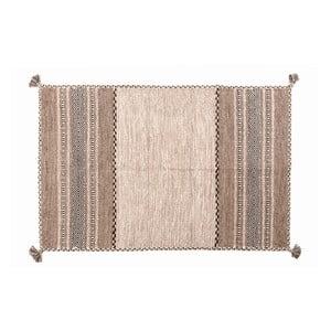 Dywan ręcznie tkany Kilim Tribal 105, 90x60 cm
