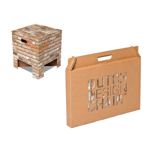 Taboret Dutch Design Chair Brick
