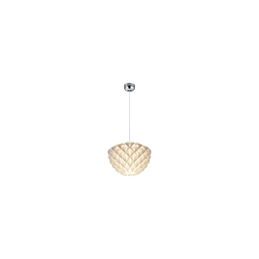 Biała lampa sufitowa Trio Pendant Tilia, wys. 150 cm