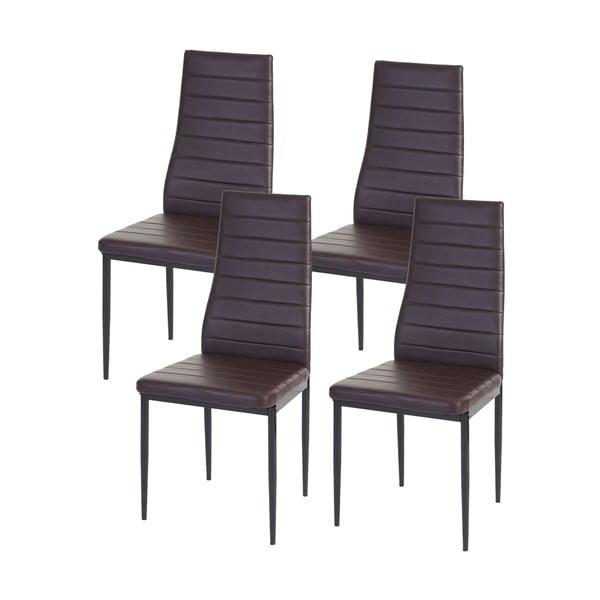 Komplet 4 krzeseł do jadalni Mendler Lamego