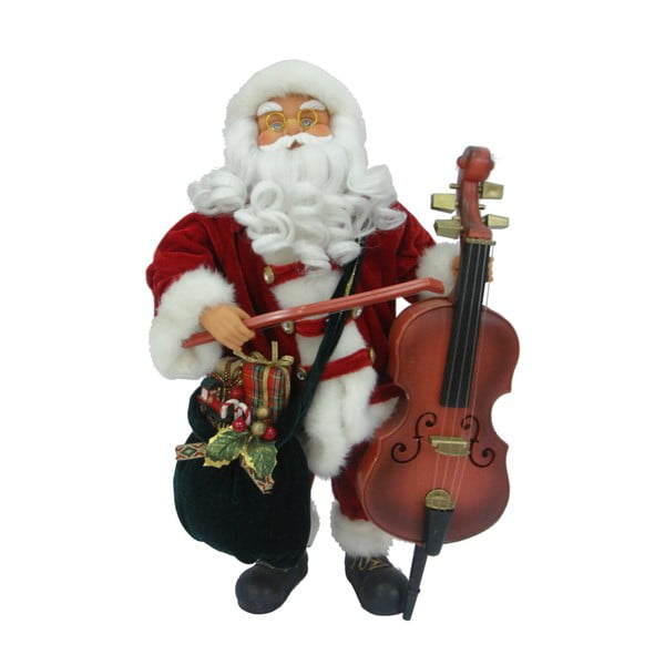Dekoracyjna figurka Musical Santa Claus