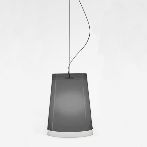 Szara lampa wisząca Pedrali L001S/AA