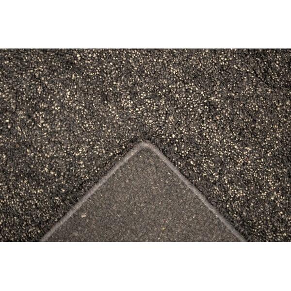 Dywan wełniany Himalaya Antrazite, 70x140 cm