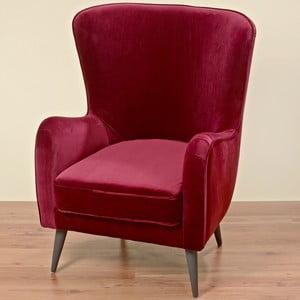 Czerwony fotel Boltze Ziena