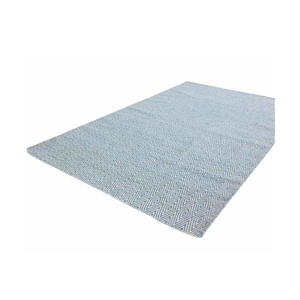 Ręcznie tkany dywan Kilim Barfi Blue, 160x230 cm