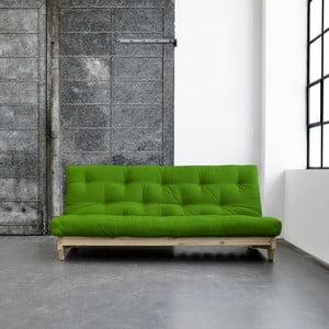 Sofa rozkładana Karup Fresh Raw/Lime