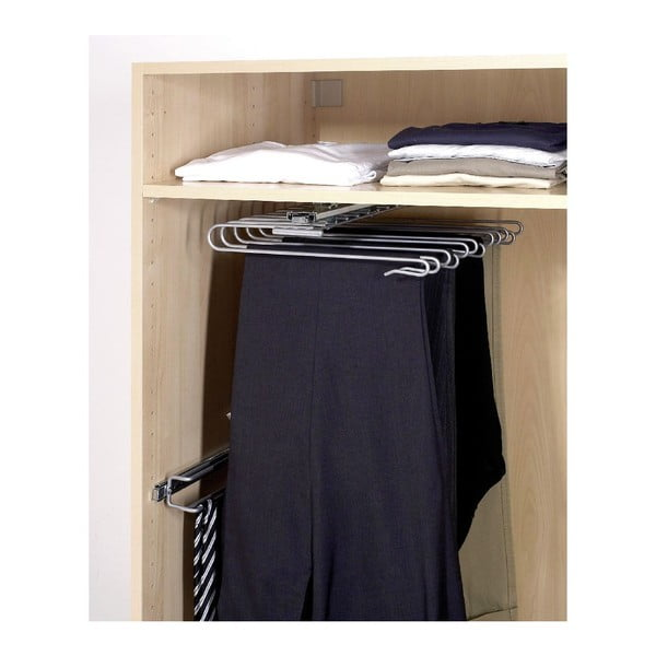 Wysuwany wieszak na spodnie Wenko Wardrobe