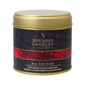 Świeczka zapachowa Shearer Candle 7 cm, czerwona róża