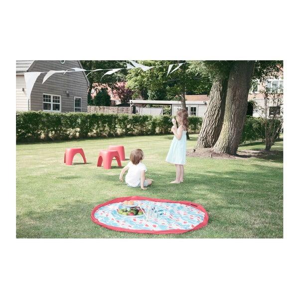 Mata do zabawy i worek na zabawki w jednym Play & Go Badminton