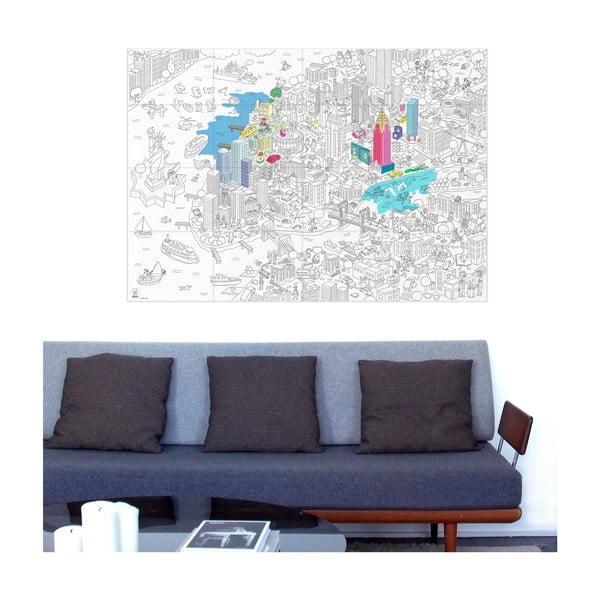 Kolorowanka OMY NYC (70x100 cm)