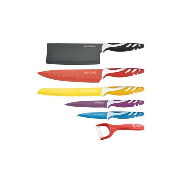 6-częściowy komplet Chef Non-stick Color, kolorowy