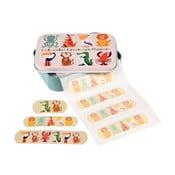 Zestaw plastrów opatrunkowych w pudełku Rex London Colourful Creatures