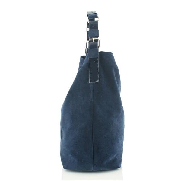 Skórzana torebka Boscollo Blue 3186