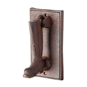 Żeliwna kołatka do drzwi w kształcie buta EsschertDesign