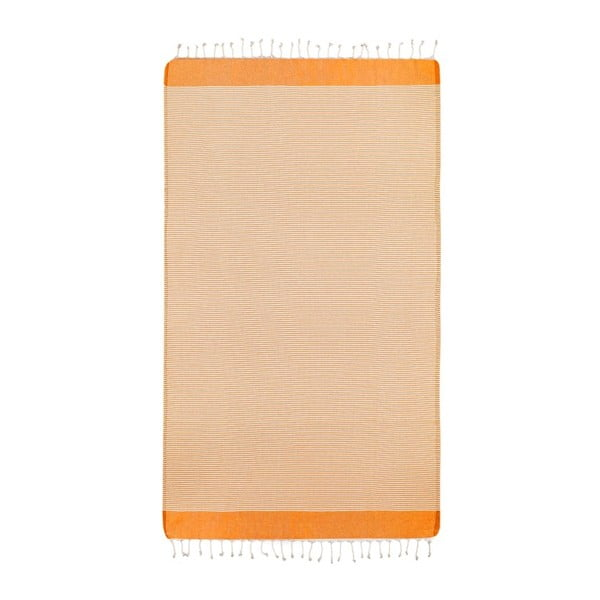 Ręcznik hammam Side Orange, 100x180 cm