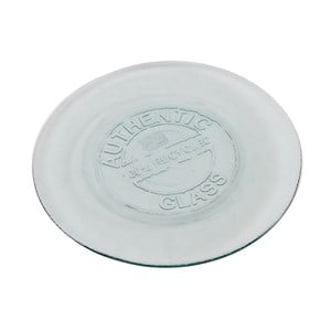 Szklany talerz Authentic Vintage, 28 cm