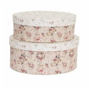 Zestaw 2 pudełek Floral