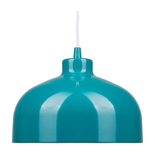Turkusowa lampa wisząca Loft You B&B, 44 cm