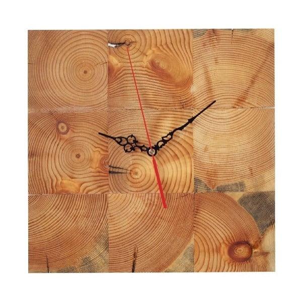 Zegar ścienny Woodblock