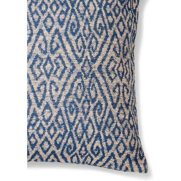Poduszka Casa Di Bassi Ikat Blue, 50x50 cm