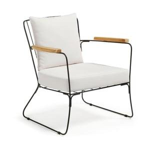 Biały fotel La Forma Rubpeh